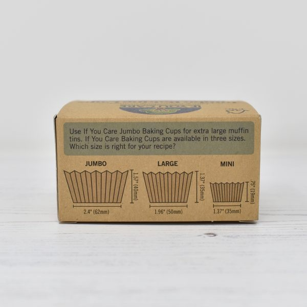 If You Care Compostable Baking Cup Size