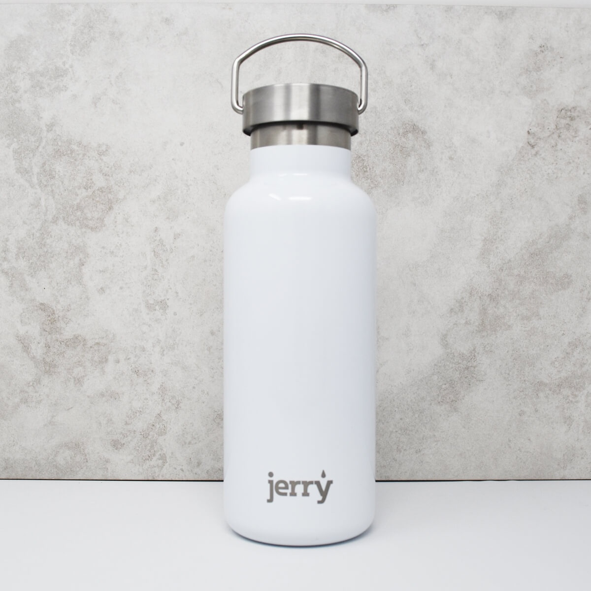 Jerry White Steel Stainless Steel Water Bottle