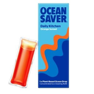 Ocean Saver Cleaning Drop Daily Kitchen Orange Sunset