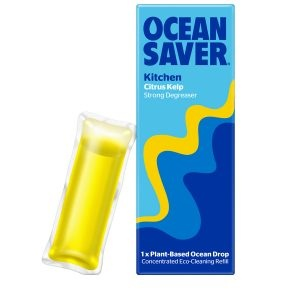 Ocean Saver Cleaning Drop Kitchen Citrus Kelp Strong Degreaser
