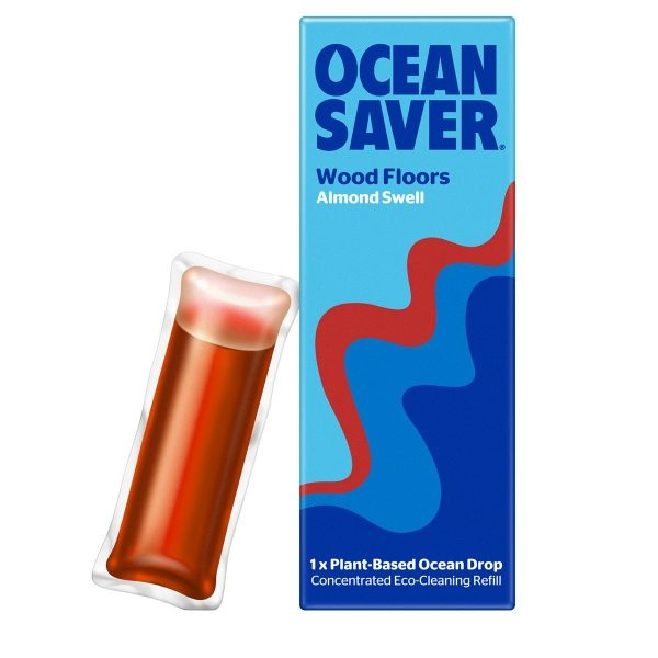 Ocean Saver Cleaning Drop Wood Floors Almond Swell