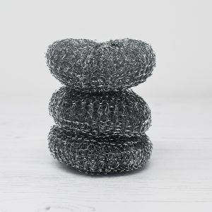 Eco Living Steel Scourers 3 Pack