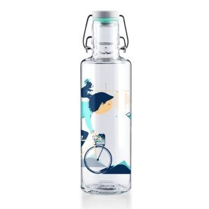 Soul Radler Glass Water Bottle
