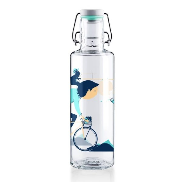 Soul Radler Glass Water Bottle