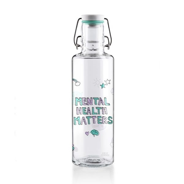 Soul You Matter Glass Water Bottle