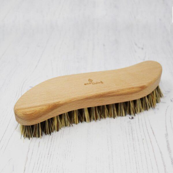 Eco Living Natural Bristle Scrubbing Brush