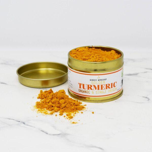 Wunder Workshop Organic Golden Turmeric Powder