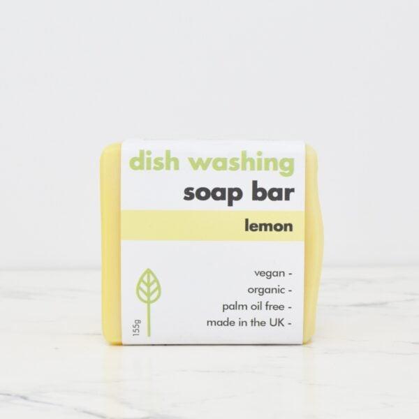 Eco Living 155g Dish Washing Soap Bar Lemon
