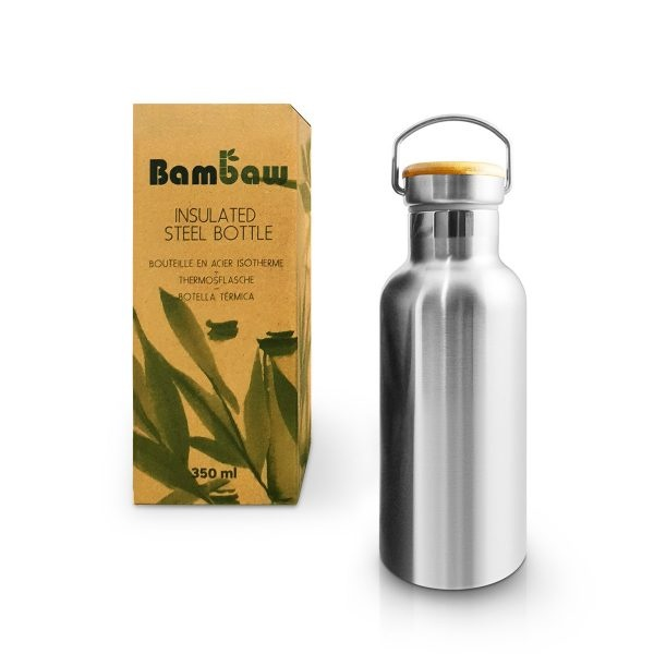 Bambaw Stainless Steel Insulated Bottle 350ml