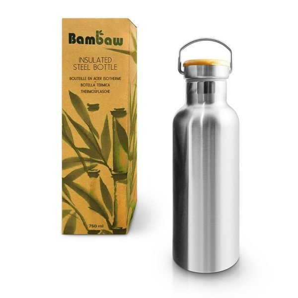 Bambaw Stainless Steel Insulated Bottle 750ml