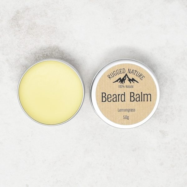Rugged Nature Lemongrass Beard Balm