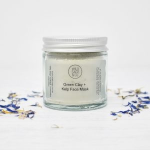 Wild Sage & Co Green Clay & Kelp Cleansing Face Mask