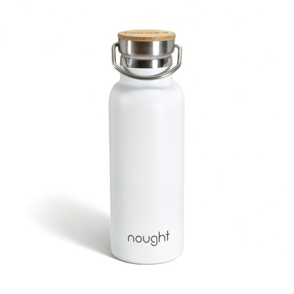 Nought Stainless Steel with Bamboo Lid Water Bottle