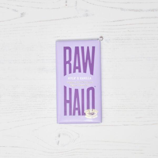 Raw Halo Vegan Organic Raw Chocolate Mylk & Vanilla