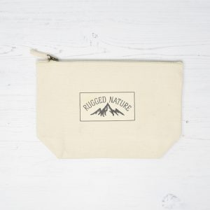 Rugged Nature Natural Cotton Wash Bag