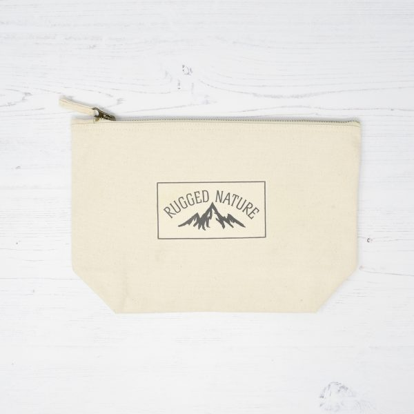 Rugged Nature Natural Cotton Wash Bag