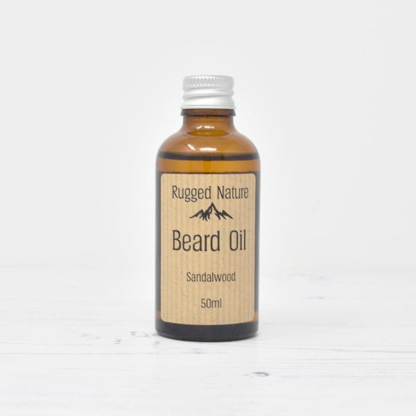 Rugged Nature Sandalwood Beard Oil