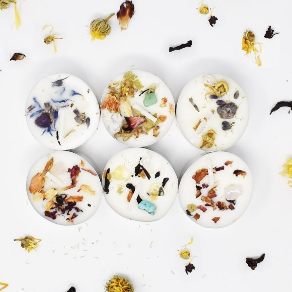 Witchwood Candles Floral Selection Soy Wax Tealights