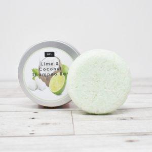 Bain & Savon Botanical Shampoo Bar Tin – Lime & Coconut