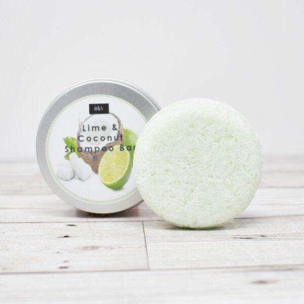 Bain & Savon Botanical Shampoo Bar Tin – Lime & Coconut