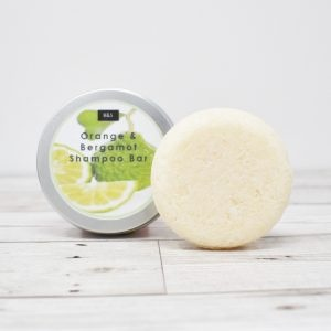 Bain & Savon Botanical Shampoo Bar Tin – Orange & Bergamot