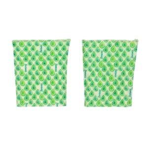 Beebagz Green Beeswax Bags Sandwich Pack