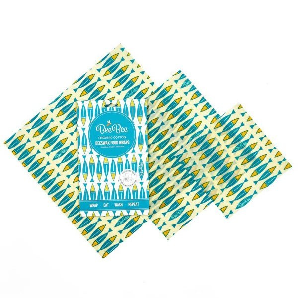 BeeBee Beeswax Wraps Mixed Size Pack – Sardines