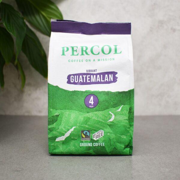 Percol Fairtrade Organic Guatemala Plastic Free Ground Coffee