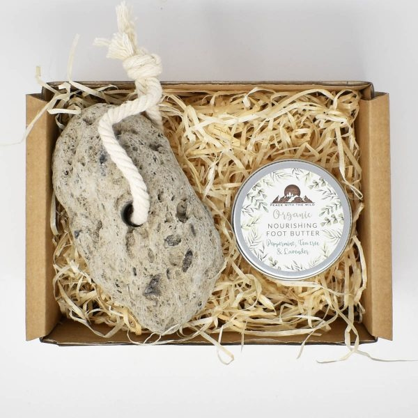 Fabulous Feet Gift Set with Pumice Stone and Foot Butter