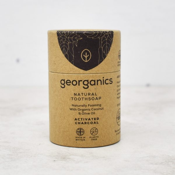 Georganics Activated Charcoal Natural Toothsoap