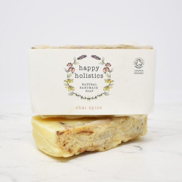 Happy Holistics Organic Soap Bar – Chai Spice
