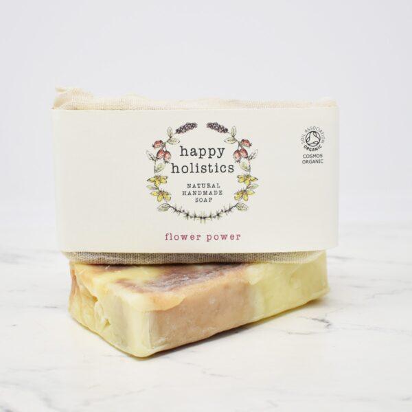 Happy Holistics Organic Soap Bar – Flower Power