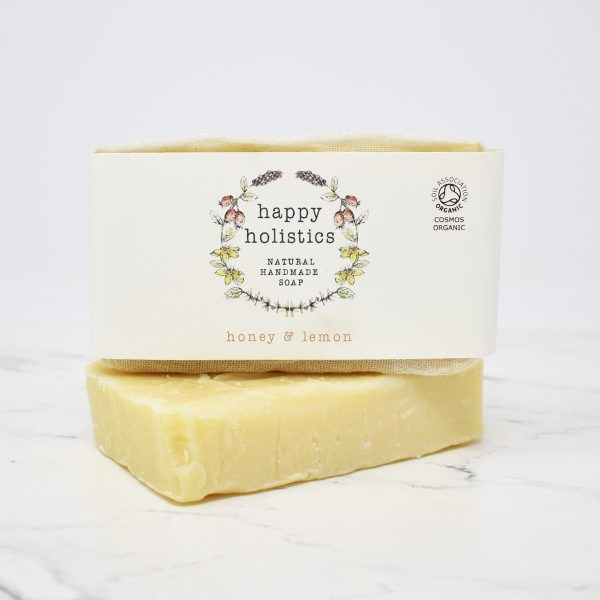 Happy Holistics Organic Soap Bar – Honey & Lemon