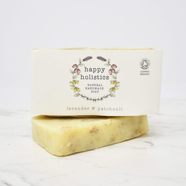 Happy Holistics Organic Soap Bar – Lavender & Patchouli