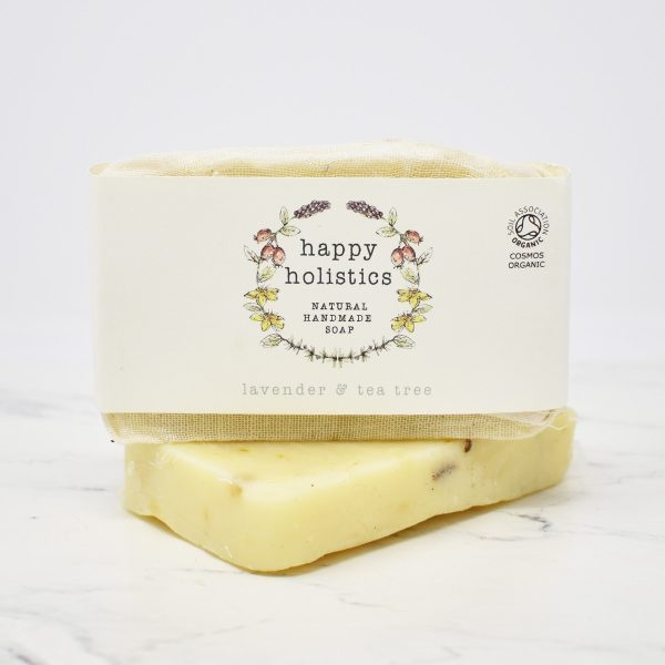 Happy Holistics Organic Soap Bar – Lavender & Tea Tree