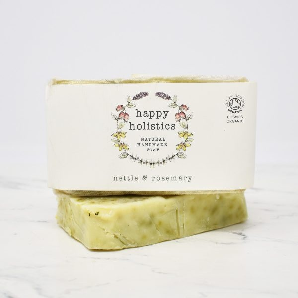 Happy Holistics Organic Soap Bar – Nettle & Rosemary