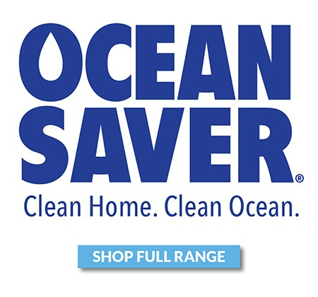 Ocean saver cleaning sachets range shop now banner