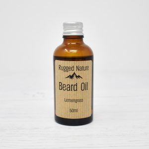 Rugged Nature Lemongrass Beard Oil