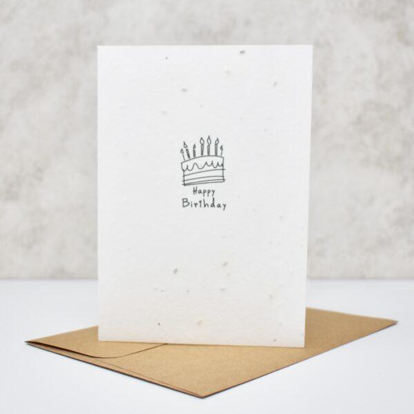 Vida Seed Card Happy Birthday