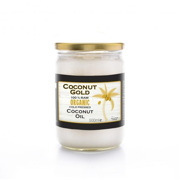 Coconut Gold Organic Cold Pressed Coconut Oil