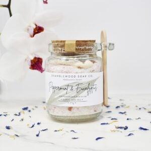 Bramblewood Soap Co Peppermint & Eucalyptus Bath Tea