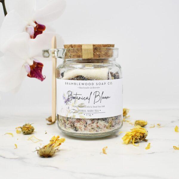 Bramblewood Soap Co Botanical Bloom Bath Tea