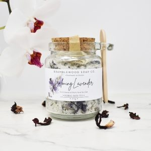 Bramblewood Soap Co Calming Lavender Bath Tea