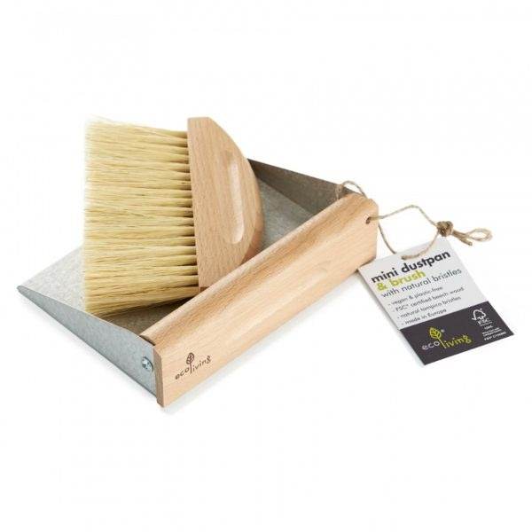 Eco Living Mini Dustpan Brush