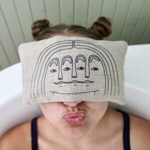 Blästa Henriët Wheat Eye Pillow – Face