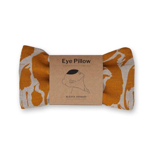 Blästa Henriët Wheat Eye Pillow – Creatures Yellow