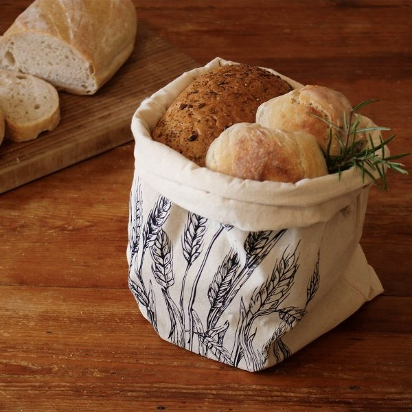 The Foragers Cottage Wheat Fields Bread Bag