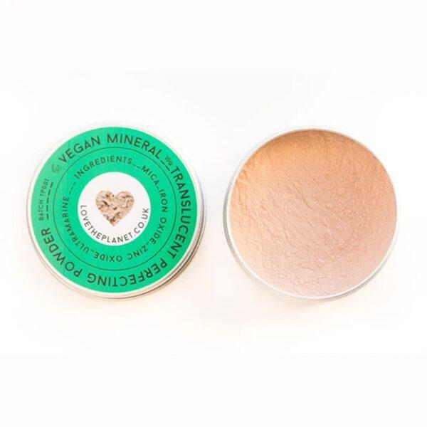 Love The Planet Translucent Powder Tin