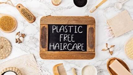 plastic free haircare
