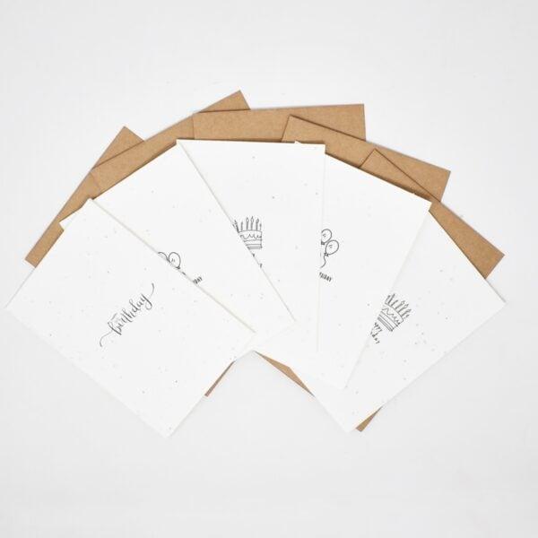 Vida Seed Thank You Cards